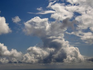 denver apartments: clouds