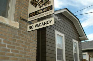 apts denver: no vacancy