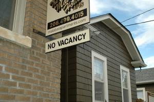 apts denver: no vacancy