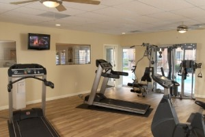apts denver: weight room