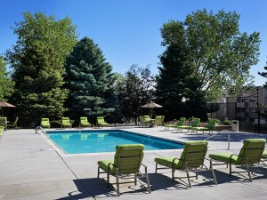Alton Green Apartments pool in Denver Colorado