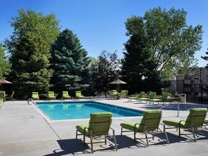 Alton Green Apartments pool in Denver Colorado