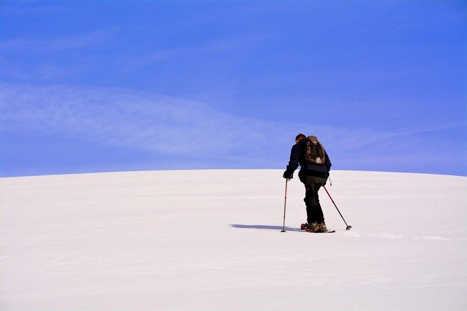 Solitude, Snowshoes, Excursion, Snow, Sky
