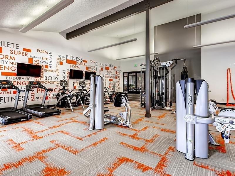 Fitness Center | 3300 Tamarac Apartments Denver, Co