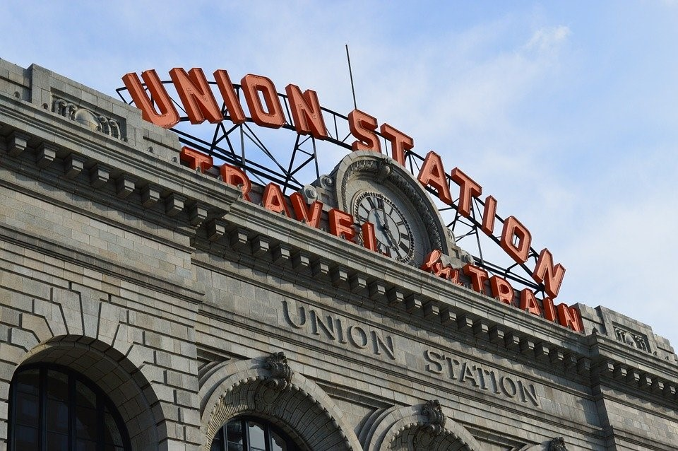Union Station, Colorado, Denver, Train, Transportation
